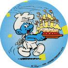Pog n°18 - Schtroumpf Pâtissier - Les Schtroumpfs - World Pog Federation (WPF)