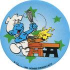 Pog n°19 - Schtroumpf Cuisinier 2 - Les Schtroumpfs - World Pog Federation (WPF)