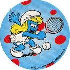 Pog n°23 - Schtroumpfette Tennis - Les Schtroumpfs - World Pog Federation (WPF)