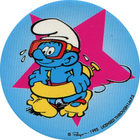Pog n°25 - Schtroumpf Plongeur - Les Schtroumpfs - World Pog Federation (WPF)