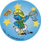 Pog n°26 - Schtroumpf Explorateur - Les Schtroumpfs - World Pog Federation (WPF)