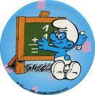 Pog n°27 - Schtroumpf Écolier - Les Schtroumpfs - World Pog Federation (WPF)