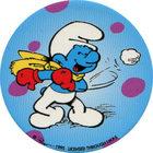 Pog n°29 - Schtroumpf Lanceur de boule de neige - Les Schtroumpfs - World Pog Federation (WPF)