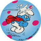 Pog n°30 - Schtroumpf Receveur de boule de neige - Les Schtroumpfs - World Pog Federation (WPF)