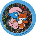 Pog n°32 - Bébé Schtroumpf 2 - Les Schtroumpfs - World Pog Federation (WPF)