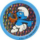 Pog n°36 - Schtroumpf Musicien 2 - Les Schtroumpfs - World Pog Federation (WPF)