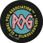 Pog n°22 - LOGO - Series #1 - Global Pog Association (GPA)