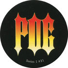 Pog n°31 - Flame LOGO - Series #1 - Global Pog Association (GPA)