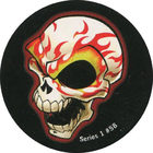 Pog n°58 - Flame Skull - Series #1 - Global Pog Association (GPA)