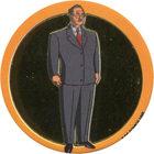 Pog n°65 - Major Hamilton Hill - Batman - World Pog Federation (WPF)
