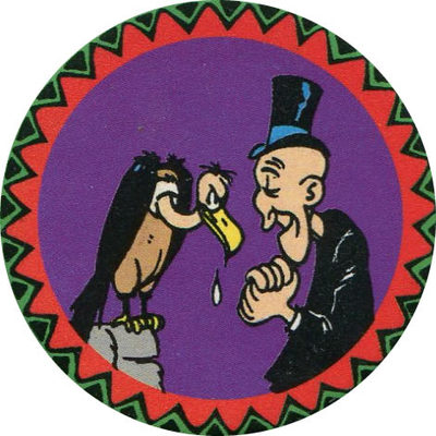 Pog n° - Lucky Luke - Petit Brun Extra - World Pog Federation (WPF)
