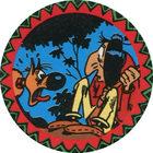 Pog n°11 - Rantanplan et un Indien - Lucky Luke - Petit Brun Extra - World Pog Federation (WPF)
