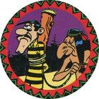 Pog n°12 - Un Dalton et un Indien - Lucky Luke - Petit Brun Extra - World Pog Federation (WPF)