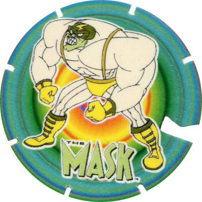 Pog n° - The Mask - BN Troc's