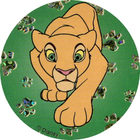 Pog n°4 - Nala adulte - Le Roi Lion - World Pog Federation (WPF)