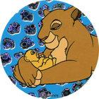 Pog n°7 - Sarabi & Simba - Le Roi Lion - World Pog Federation (WPF)