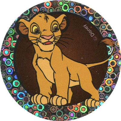 Pog n° - Le Roi Lion - World Pog Federation (WPF)