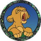 Pog n°15 - Bébé Simba pleure - Le Roi Lion - World Pog Federation (WPF)