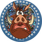Pog n°17 - Pumbaa effrayé - Le Roi Lion - World Pog Federation (WPF)